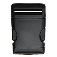Classic Euro Style Tapered Single Side Release Buckles