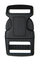 Heavy Duty Contour Single Side Release Buckles (BK 208-1-20)