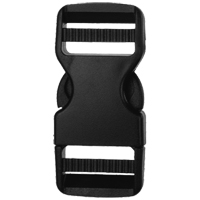 Classic Camber Dual Side Release Buckles (BK 222-25)