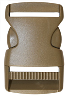 Euro Style Classic Single Side Center Release Buckles